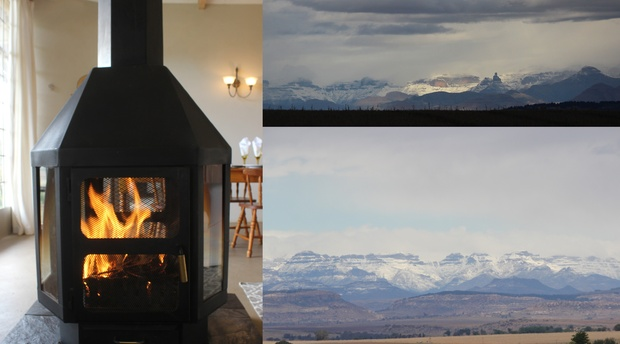 Amohela ho Spitskop Country Retreat & Conservancy is the best winter getaway in the Eastern Free State, with spacious self catering cottages, snowy mountain views, big crackling fires.