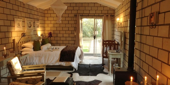 Nguni Garden Bedroom, fully catered with Dinner Bed and Breakfast.