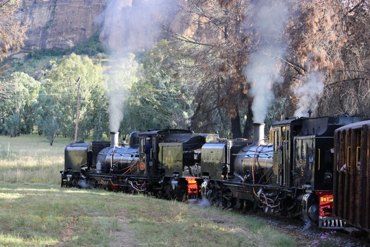 Steam Trains in the Eastern Free State