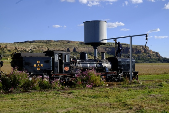 Steam Trains in the Eastern Free State.